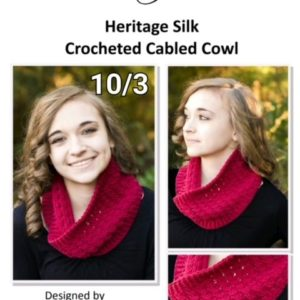 Crocheted Cabled Cowl Class
