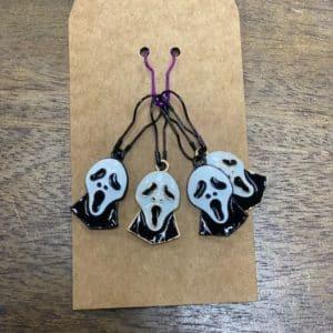 Scream Mask Stitch Markers