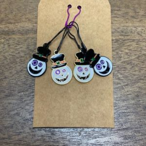 Jack O' Lantern Stitch Markers