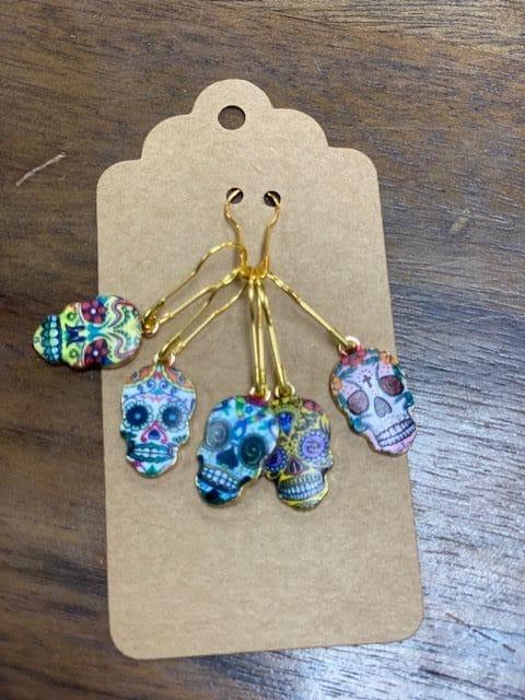 Colorful Sugar Skulls Stitch 1