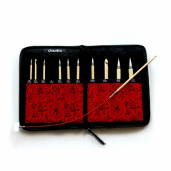 Tunisian Interchangeable Bamboo Crochet Set 1