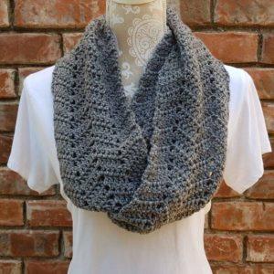 Intermediate Crochet 10/17 Ripple/ Chevron Scarf